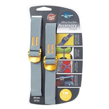 SeatoSummit Accessory Strap 20mm Webbing - 1.0m желтый 1м