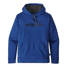 Patagonia Text Logo Polycycle Hoody