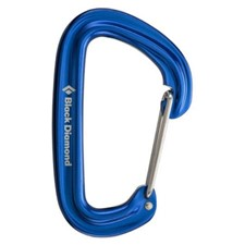 Black Diamond Neutrino Carabiner синий