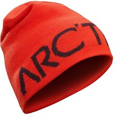 Arcteryx Word Head Long Toque темно-оранжевый ONE