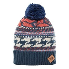 The North Face Fair Isle Beanie темно-синий ONE