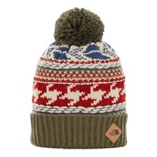 The North Face Fair Isle Beanie хаки ONE