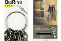 Nite Ize Big Ring серый