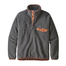 Patagonia LW Synch Snap-T P/O - EU FIT темно-серый S
