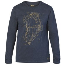 FjallRaven Greenland Printed Long Sleeve M