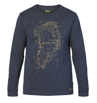 FjallRaven Greenland Printed Long Sleeve M - Увеличить