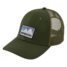 Patagonia Shop Sticker Patch Lopro Trucker Hat темно-зеленый ONE*
