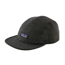 Patagonia Recycled Wool Cap темно-серый ONE