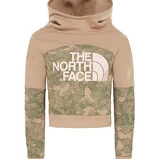The North Face Girls Cropped Hoodie детская