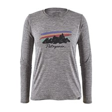 Patagonia Long-Sleeved Capilene Cool Daily Graphic Shirt женская