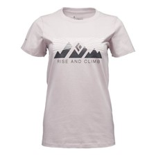 Black Diamond SS Rise And Climb Tee женская