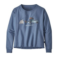 Patagonia Live Simply Lounger Uprisal Crew Sweatshirt женская
