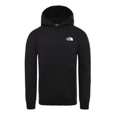 The North Face Raglan Red Box Hoody