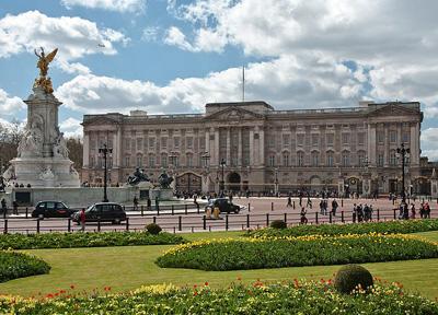 Букингемский дворец Лондон Достопримечательности Великобритании  Букингемский дворец