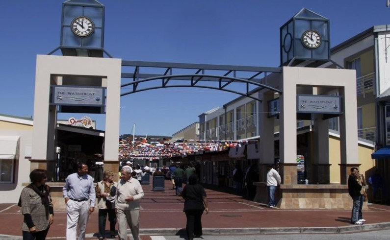Вход в The Waterfront, Knysna