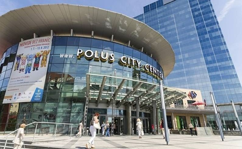 Polus City Shopping & Entertainment Center.