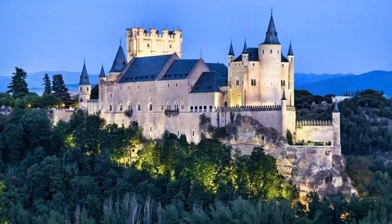 Продажа замков в испании с фото