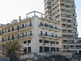 фото город призрак фамагуста кипр